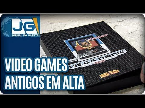 Video games antigos estão de volta