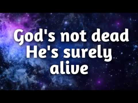 The Newsboys Gods not dead lyrics