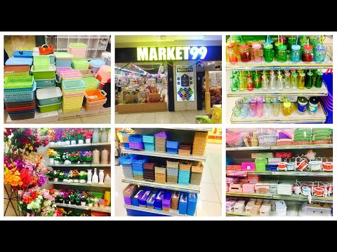 Market 99 | Store 99 Store Tour And Shopping Haul || Cheapest House Hold And Home Decor At  Rs 99