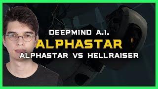 AlphaStar vs Hellraiser [TvP] Deepmind A.I. Starcraft 2