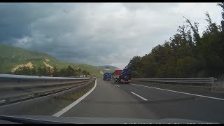 Italy - A15 mountain pass. Be careful on this road!