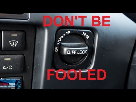 DON'T BE FOOLED | Toyota Landcruiser Diff Lockers | Japanese Car Auction .