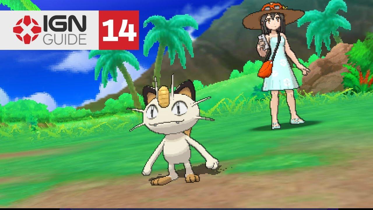 Pokemon: Ultra Sun and Ultra Moon Walkthrough - Route 4