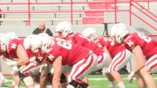 Nebraska football spring practice report 4/8/17 KMTV3