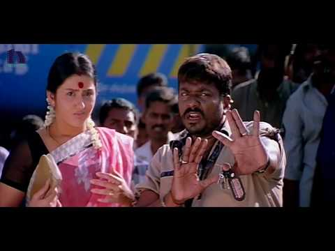 Parthiepan Irritates Policemen - Simhamukhi Movie Scenes