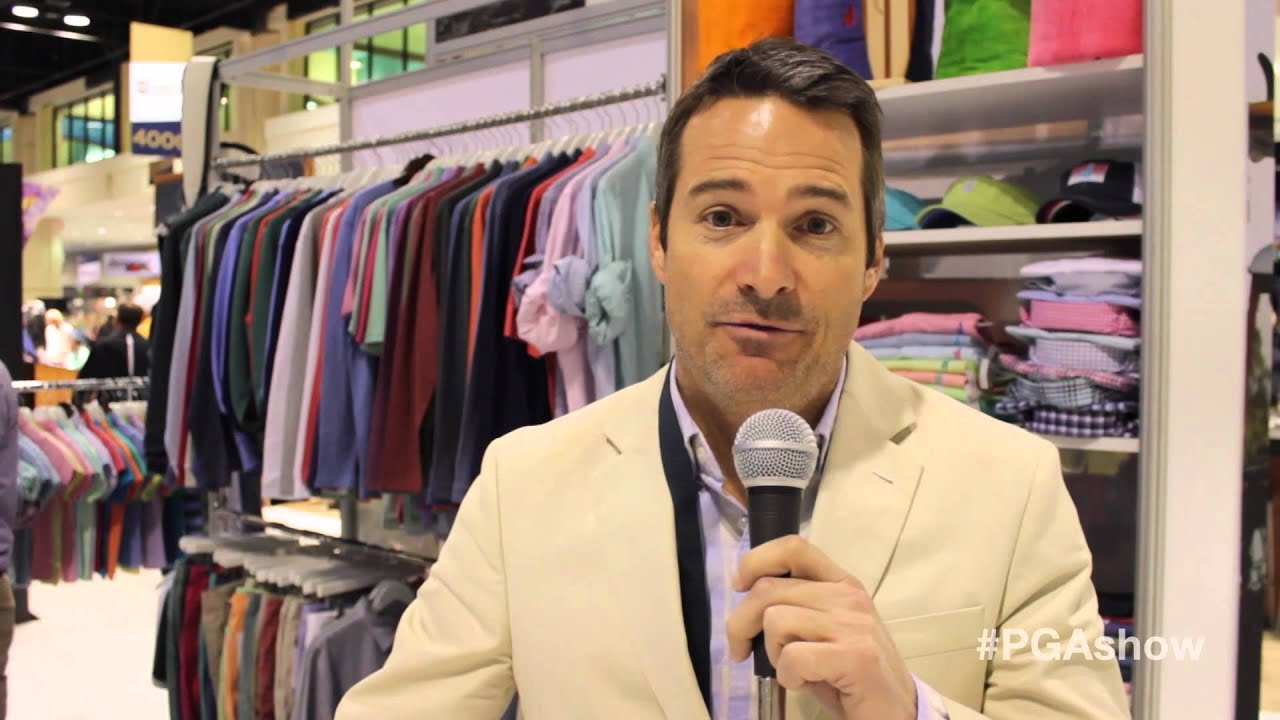 PGA Merchandise Show: johnnie-O - YouTube