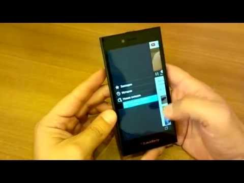Обзор BlackBerry Leap