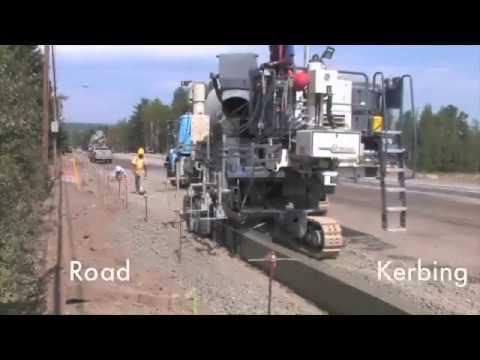 Универсальные бетоноукладчики: использование при строительстве дорог и объектов инфраструктуры