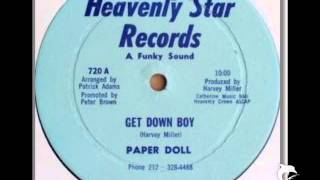 PAPER DOLL - GET DOWN BOY - EXTENDED 12