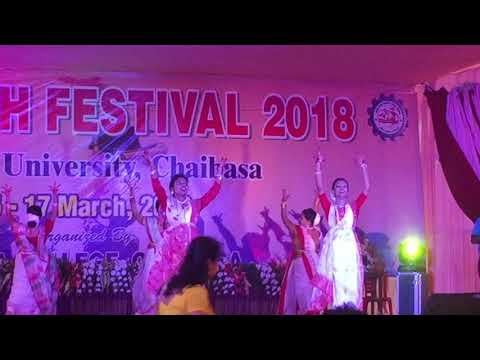 Maa durga Maa performed by nursing college of Jamshedpur girls