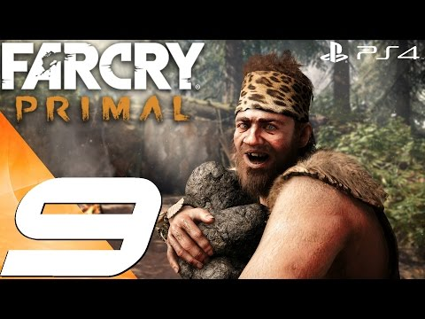Far Cry Primal (PS4) - Gameplay Walkthrough Part 9 - Fly Like A Bird & Great Scar Bear Hunt