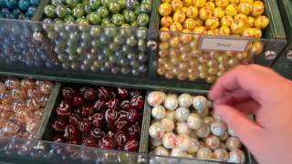 House of marbles - playing with marbles