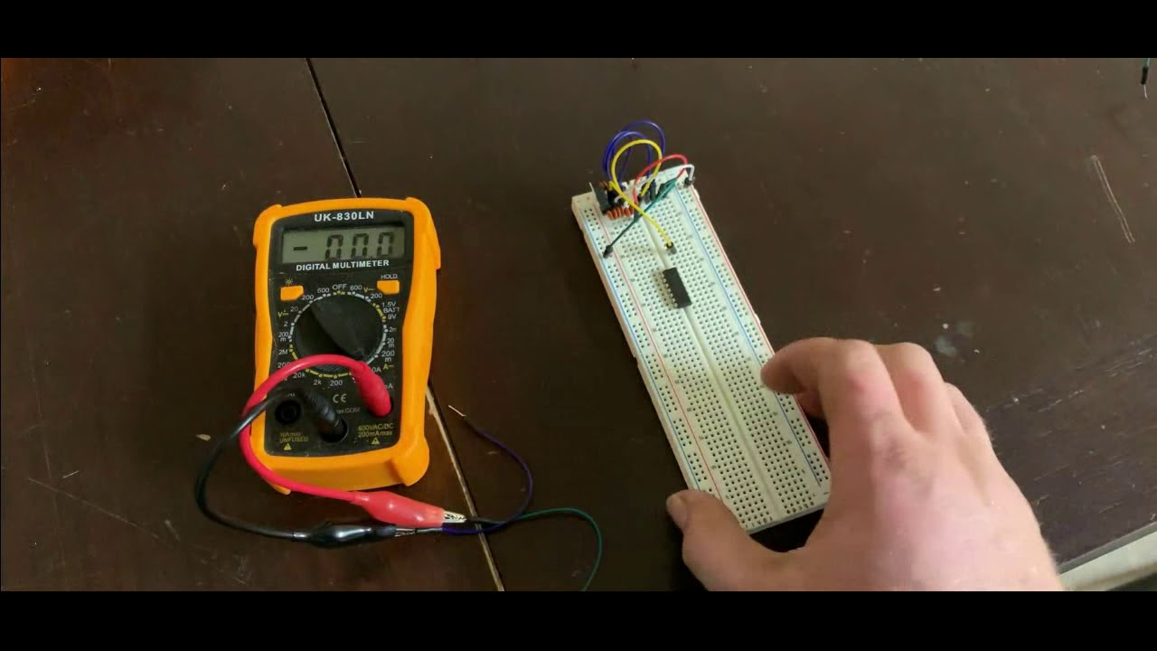 ICL8038 Function Generator Circuit Build: Basic Test Circuit