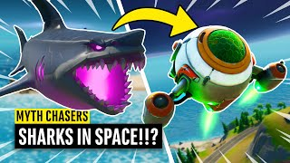 Launching a SHARK into SPACE!? Fortnite Myth Chasers