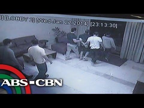 CCTV footage of Vhong Navarro
