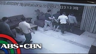 CCTV footage of Vhong Navarro