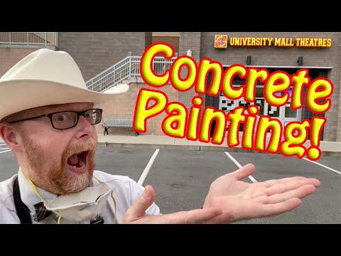 EPISODE #3: Concrete Painting!