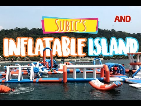 "Subic's ""Inflatable Island"""