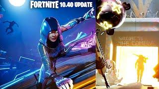 Fortnite New 10.40 Update: Starry Suburbs POI + The Combine Mode! (Fortnite New Update)