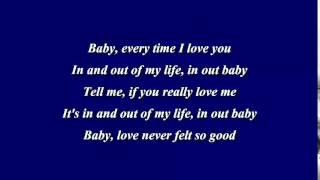 Repeat youtube video Love Never Felt So Good - Michael Jackson (ft. Justin Timberlake) Lyrics