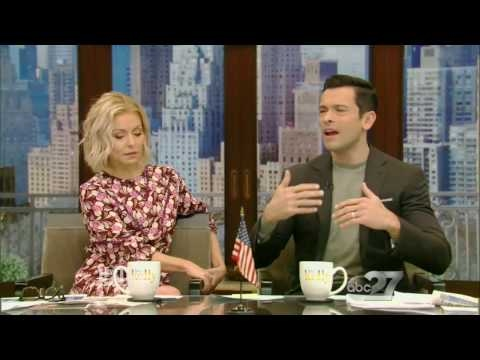 Live With Kelly  02/07/2017 co-host is Mark Consuelos: Archie Panjabi:Nick Viall stops by.