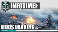 MEINE MODS & Gedanken dazu! - World of Warships | [Replay] [Deutsch] [60fps]