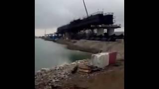 Керченский мост сегодня 28. 11. 2016/ мост Путина/ Крымский мост сегодня