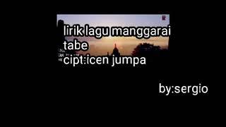 Lirik lagu manggarai tabe icen jumpa
