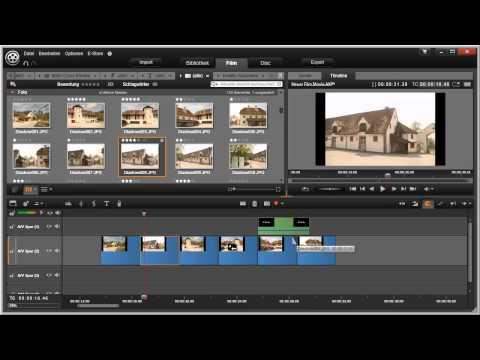 Verschiedene Editiermodi nutzen in Pinnacle Studio 16 und 17 Video 53 von 114