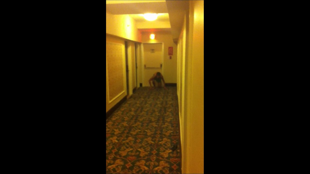 The Naked Mile before getting locked out of hotel room - YouTube