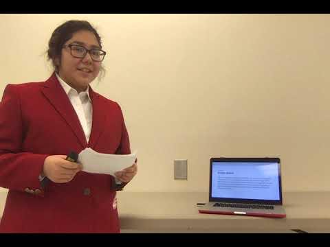 Jazlyn Piedra Public Policy Advocate  Level 3 Presentation Childress High School