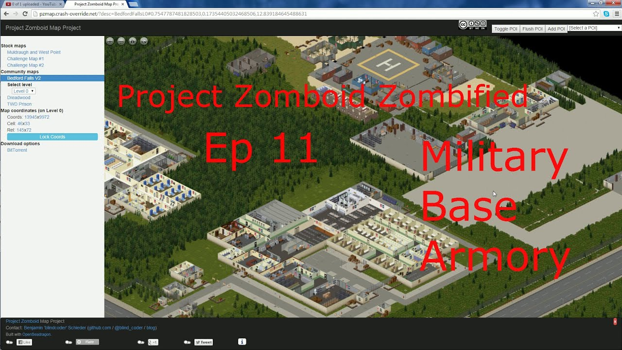 Project Zomboid Zombified Ep 11 Military Base Armory