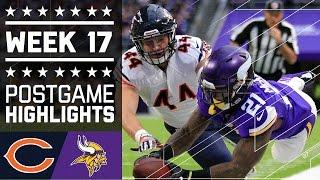 Bears vs. Vikings | NFL Week 17 Game Highlights