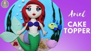 The Little Mermaid Ariel Cake Topper Tutorial!