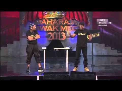 Maharaja Lawak Mega 2013 - Minggu 8 - Persembahan Wala
