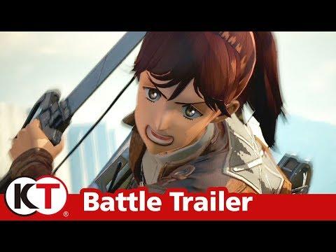 Attack on Titan 2 - Battle Trailer