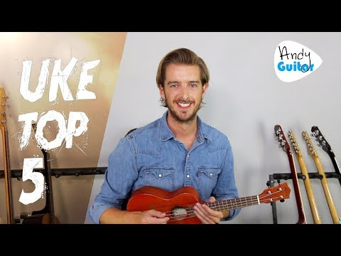 Top 5 Ukulele Songs - EASY CHORDS