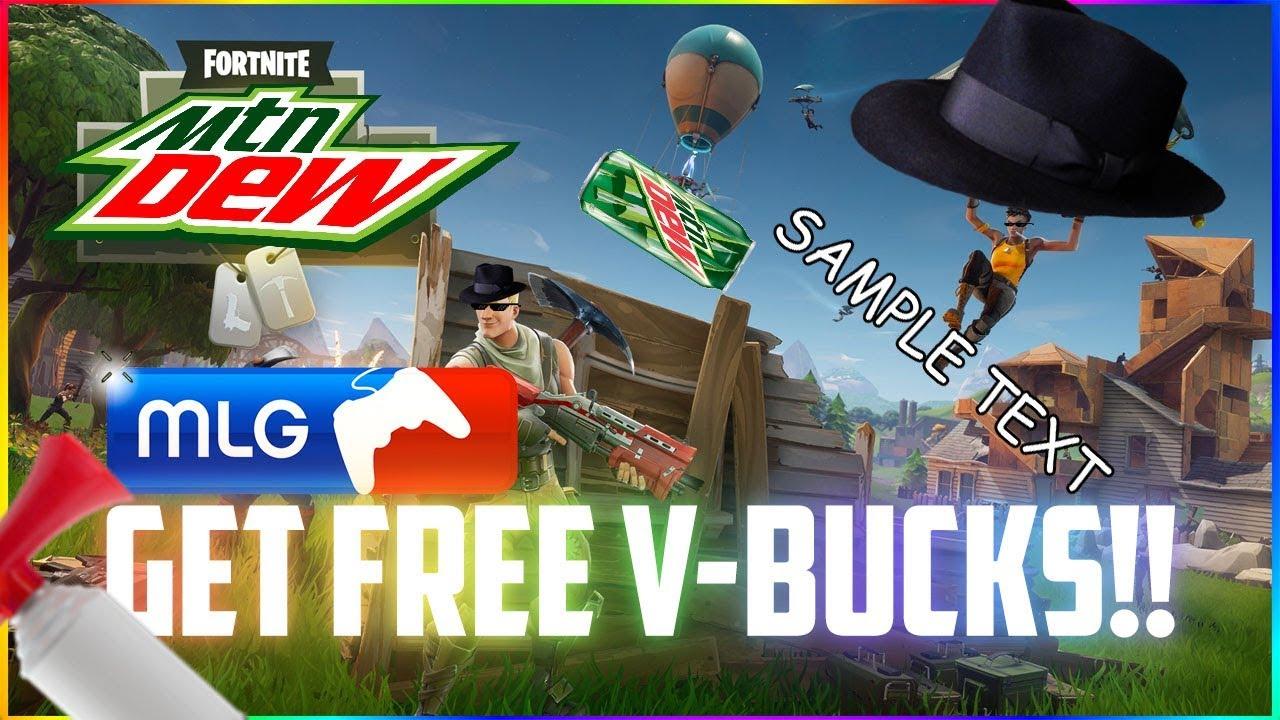 How To Get Free V Bucks Mlg Fortnite Battle Royale Meme Joke