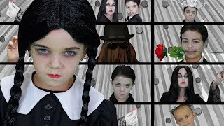 The Addams Family | Finger Family Songs