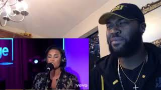 Demi Lovato - Take Me To Church (Hozier cover in the Live Lounge- REACTION
