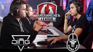 World of Tanks - DiNG vs Kazna Kru - the Final - WGL EU S1 2016/17