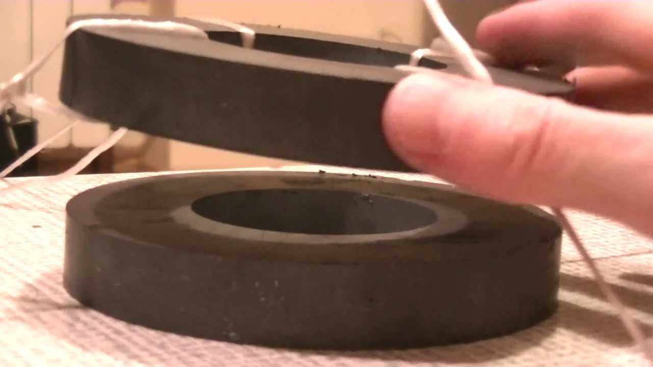 Do it Yourself Magnetic Levitation