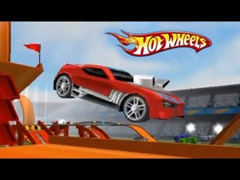Juego de Autos 24 Hot Wheels New Track Builder 2014 en HD  YouTube