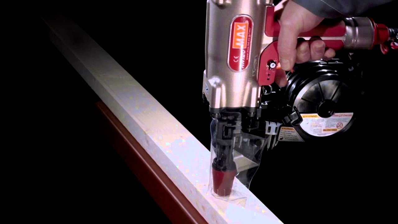 Ergofast   HN120 Nail Gun For Metal And Wood To Concrete And Steel   YouTube