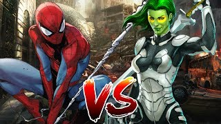 Spider-Man VS Gamora | BATTLE ROYALE