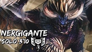 Nergigante Solo 3 10 Charge Blade  Monster Hunter World Beta