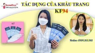 Khẩu Trang Chống Bụi Mịn Hàn Quốc KF94 Chính Hãng Tốt Nhất Cho Người Lớn Và Trẻ Em   KoreaShop24h