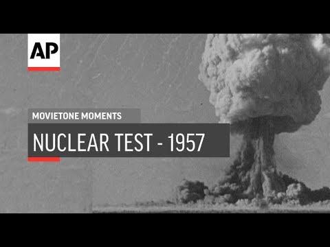 Maralinga Nuclear Test - 1957 | Movietone Moments | 5 Oct 18