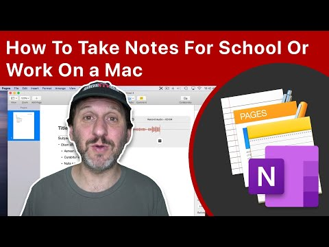How To Take Notes For School Or Work On A Mac