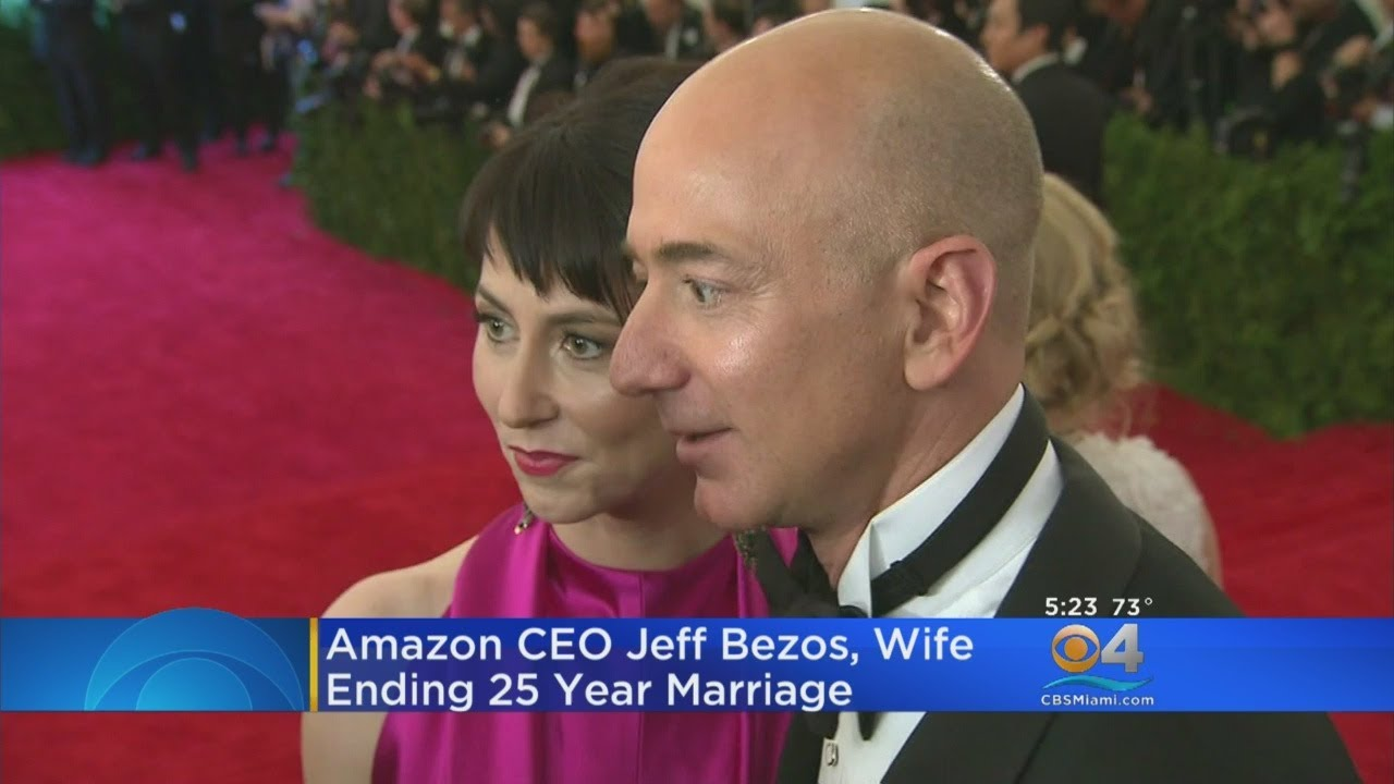 Miami S Own Amazon Ceo Jeff Bezos Wife Divorcing After 25 Years